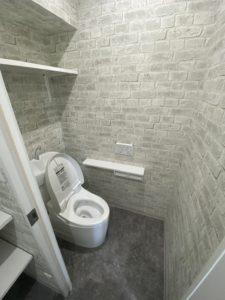 東京都江戸川区 社員寮ワンルームをシャワールーム改修工事